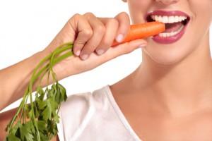 Gesunde Zähne und gesunde Ernährung gehören zusammen.