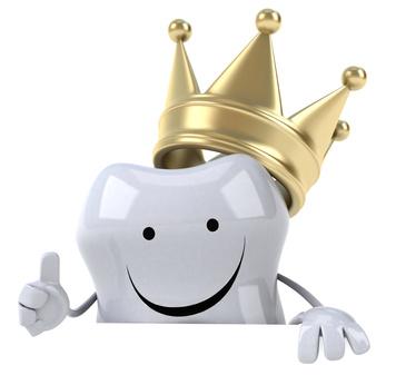 Zahnkrone schützt den Zahn